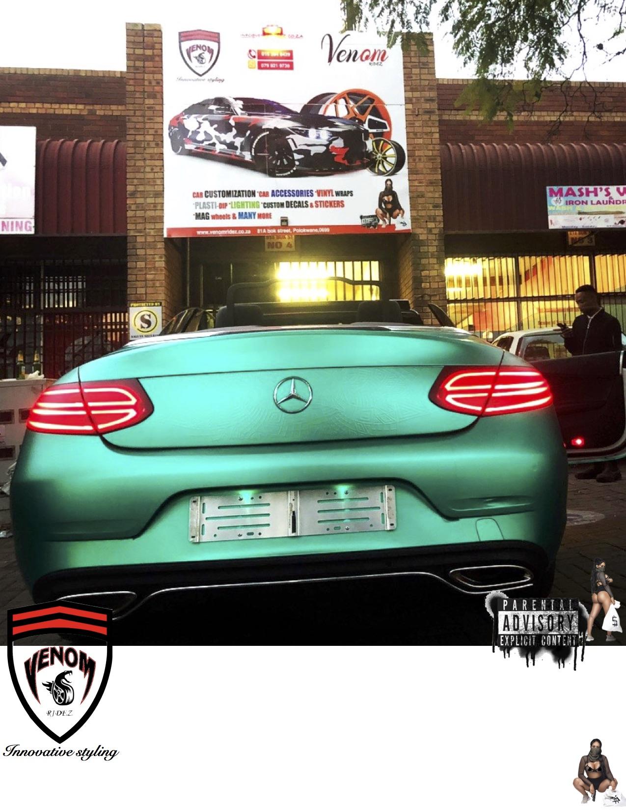 Custom wraps & Branding : CAR WRAP (MATTE VINLY WRAP)