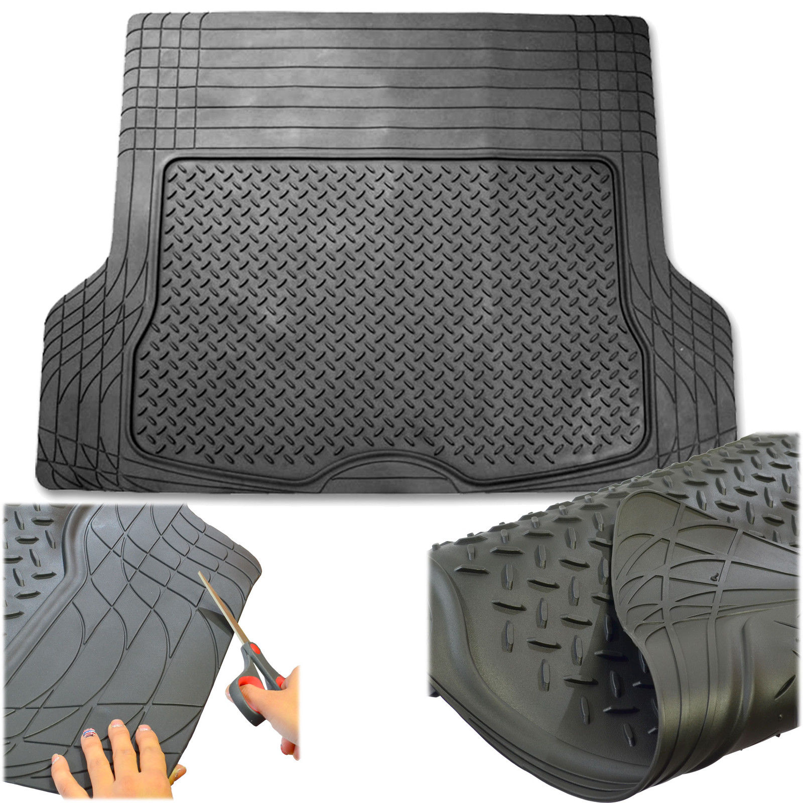 New Arrivals Universal Boot Trunk Rubber Mat